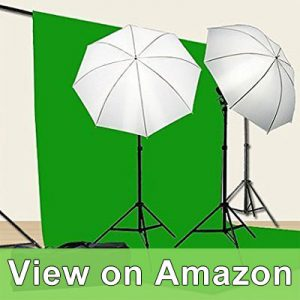 Fancierstudio Chromakey Green Screen Kit 800w Photo Video Lighting Kit 10x12 feet Green Screen and Backdrop Support System review