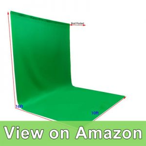 ePhotoInc Large Photo Video Photography Studio 10ft x 16ft Green Chromakey Chroma Key Muslin Backdrop Background Screen review
